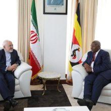 دکتر محمدجواد ظریف وزیر امورخارجه کشورمان در دیدار با سام کوتسا وزیر امور خارجه اوگاندا ضمن ابراز خرسندی از همکاری های دو جانبه خواستار؛ ایران و اوگاندا