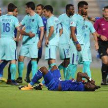 بازیکنان الهلال عربستان در دیدار برابر استقلال رفتار ناجوانمردانه و دور از ارزش های انسانی را انجام دادند. حرکت زشت بازیکنان الهلال