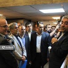 افتتاح مرکز ارتباطات مردمی 122 آبفای گیلان