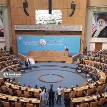روحانی در مراسم اختتامیه جشنواره شهید رجایی