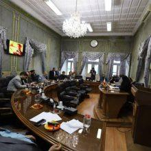 پنجاه و چهارمین جلسه شورای شهر رشت در تالار شورا برگزار شد.