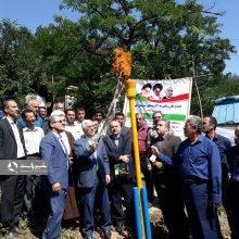 گازرسانی در 12 روستای ییلاقی لنگرود