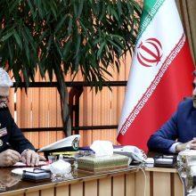 استاندار گیلان در نشست با رئیس سازمان صنایع دریایی وزارت دفاع؛