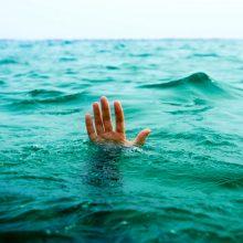 غرق شدن مردی در رودسر